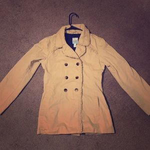Super cute old Navy fitted pea coat